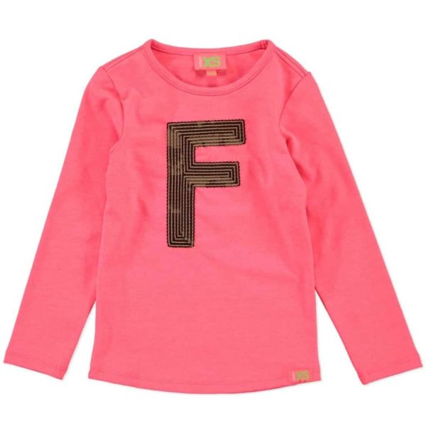 Funky XS Tee Fluo pink