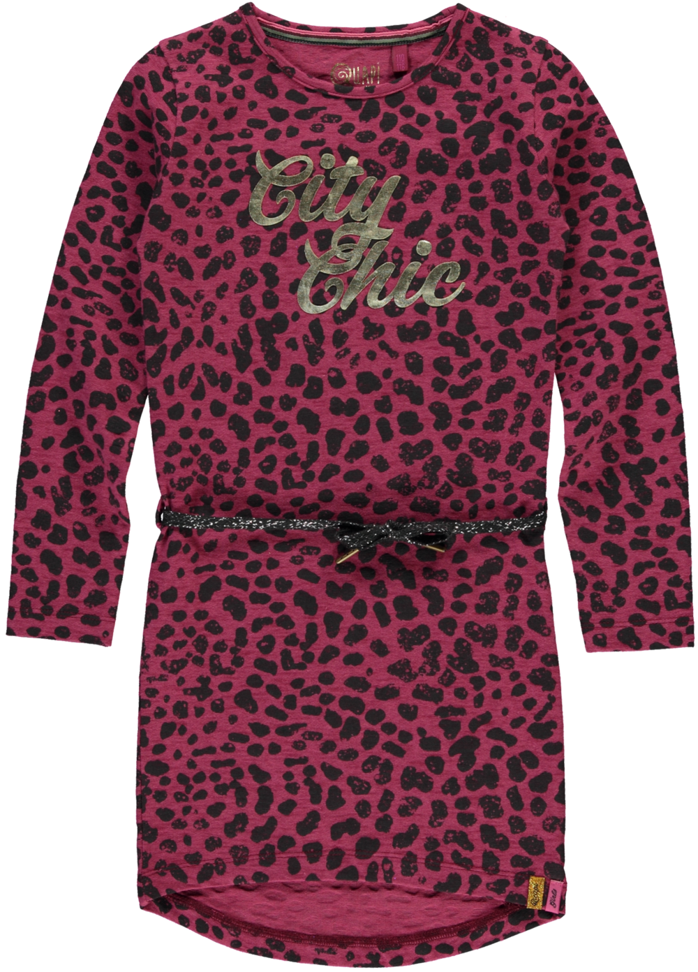 quapi-dress-tamia-bordeaux leopard