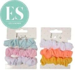 Hair scrunchies set(3)