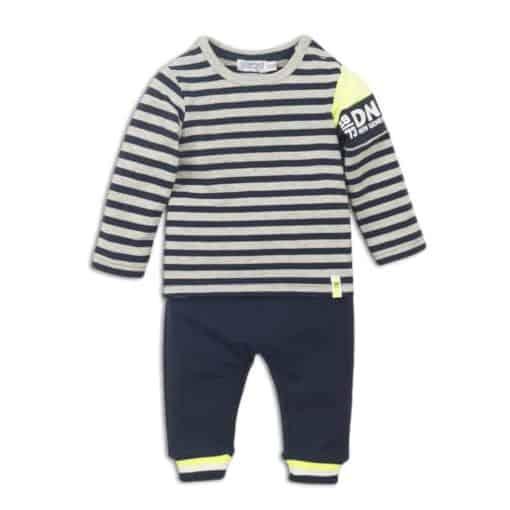 dirkje-2-pieces-babysuit-navy grey