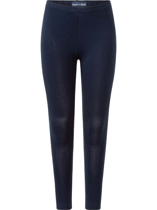 Chaos and order legging Minte navy