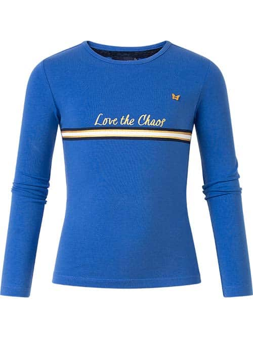 Chaos and Order longsleeve Pip cobalt