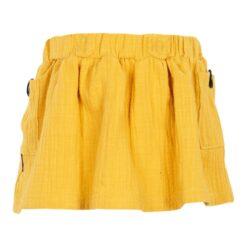 Kiezeltje skirt oker yellow
