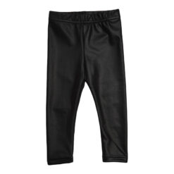 Kiezeltje legging black leather look mat