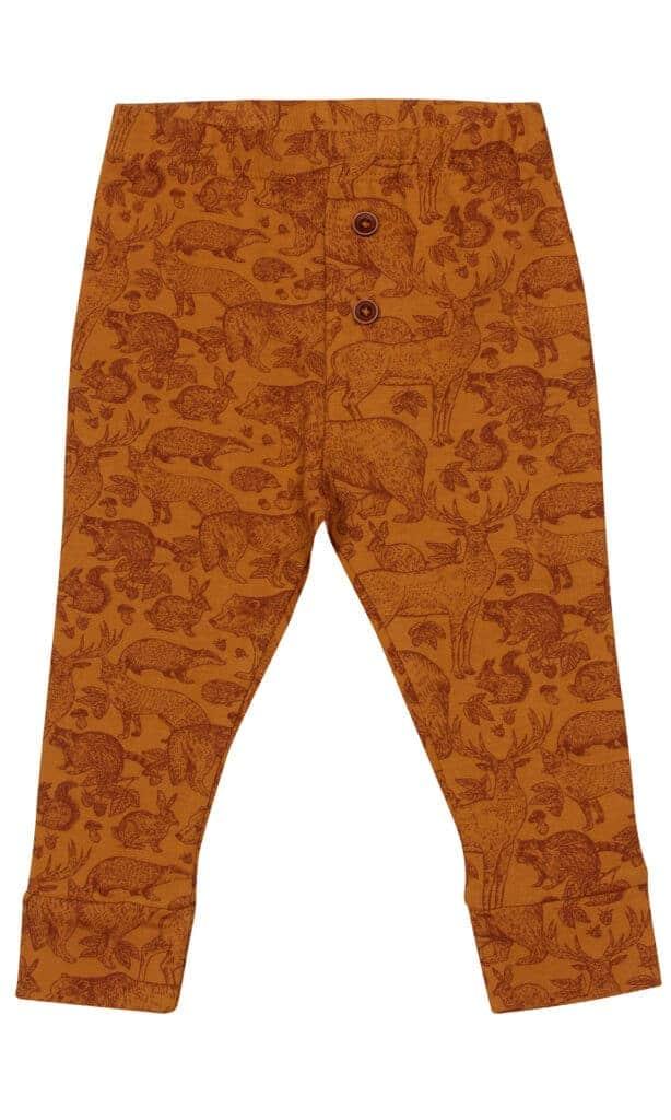 Kids-Up pants oker