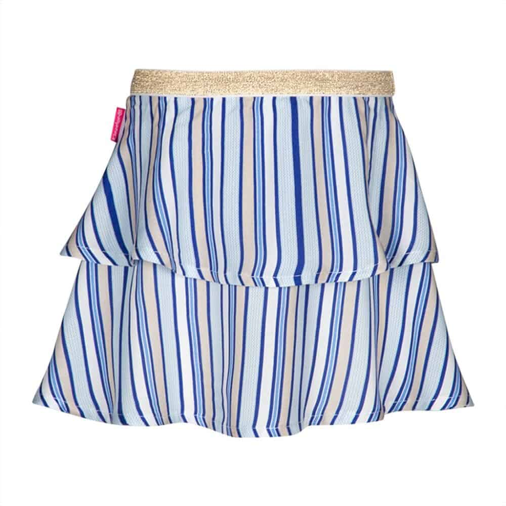 Kiezeltje skirt stripe blue