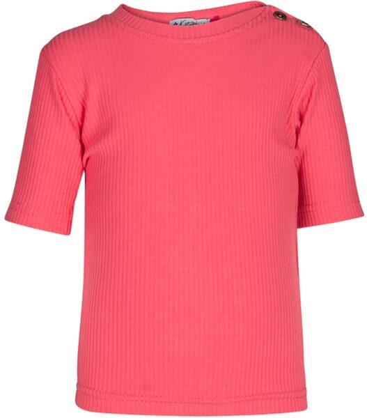 Kiezeltje shirt framboos