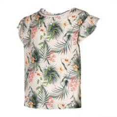 Kiezeltje blouse tropical flower