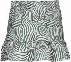 Kiezeltje skirt green zebra