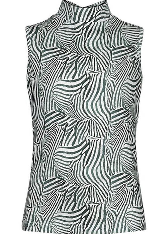 Kiestone top green zebra