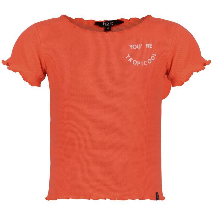 Beebielove shirt koraal