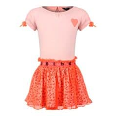 Beebielove dress tulle panterprint