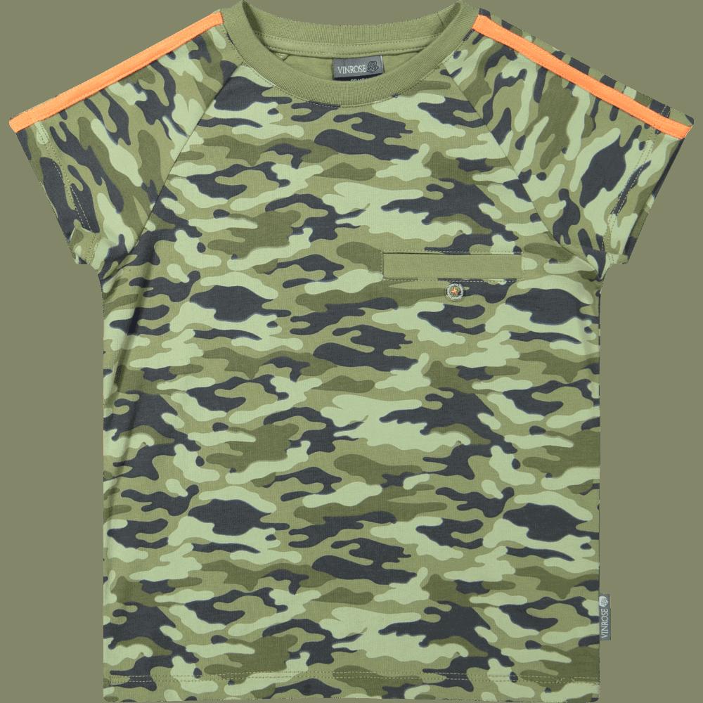 Vinrose shirt oil green