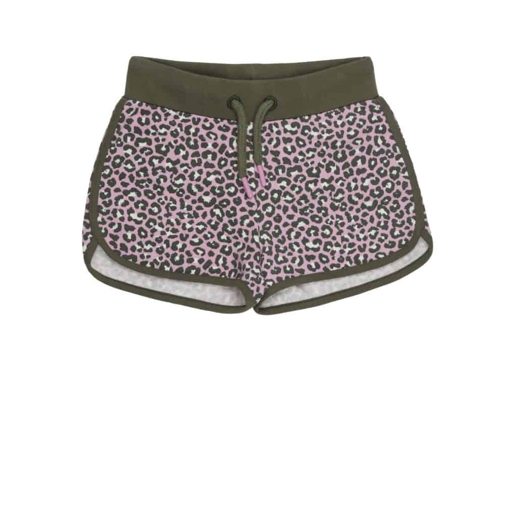 Vinrose short lilac leopard