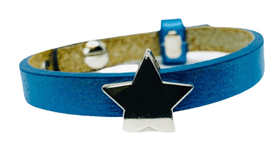 Handmade armband blue star
