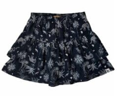 Topitm skirt Nana black animal