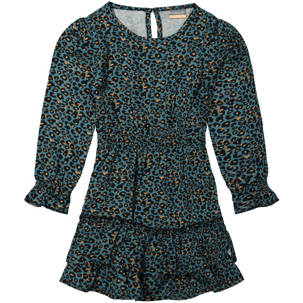 Vinrose dress shaded spruce