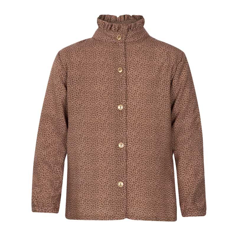 Kiezeltje blouse animal brown