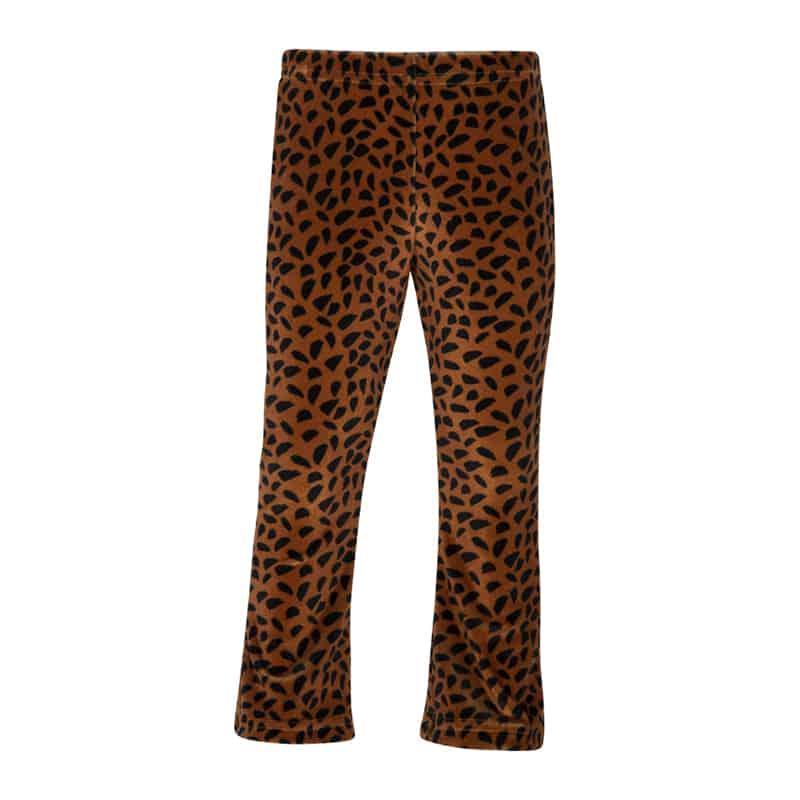 Kiezeltje flared pants brown spots