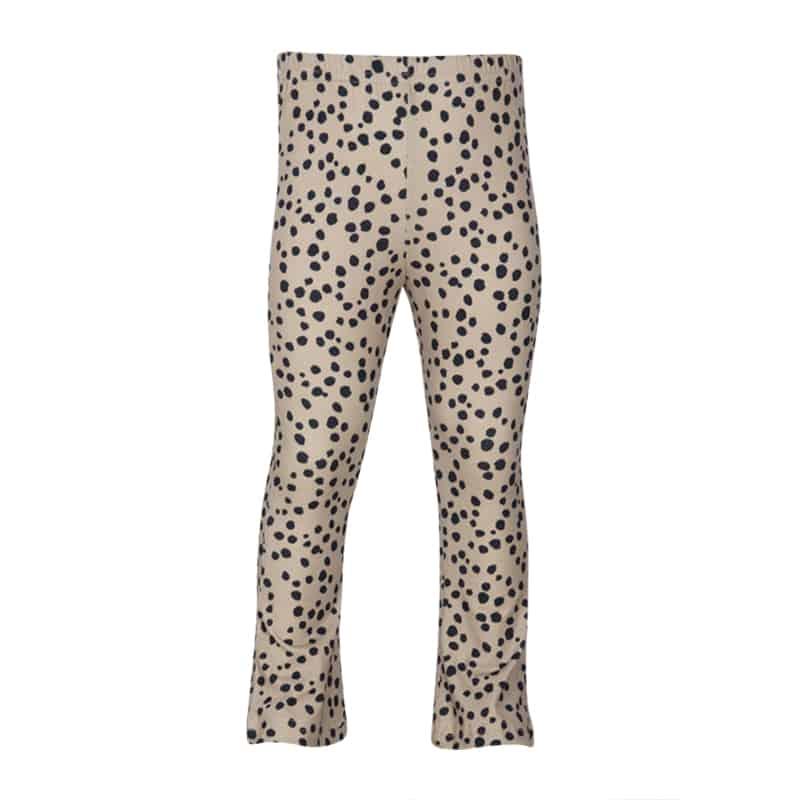Kiezeltje flared pants blue spots