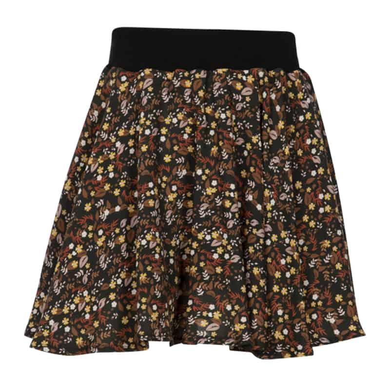 KIEstone skirt flower brown