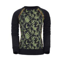 Unreal BA6 hoodie sweater green/black