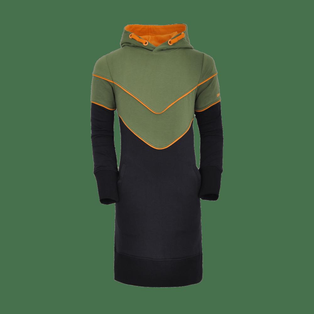 Unreal BA6 sweatdress green/black