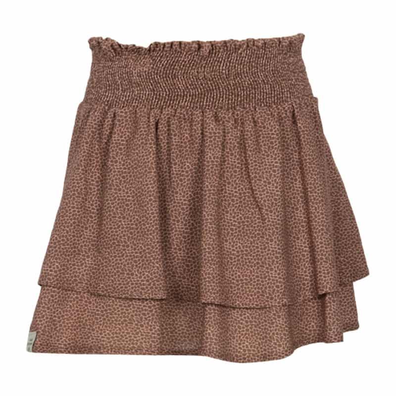 KIEstone skirt animal brown