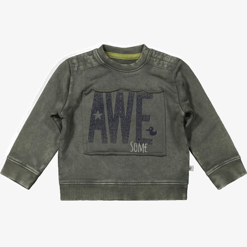 Ducky Beau sweater Dusty olive