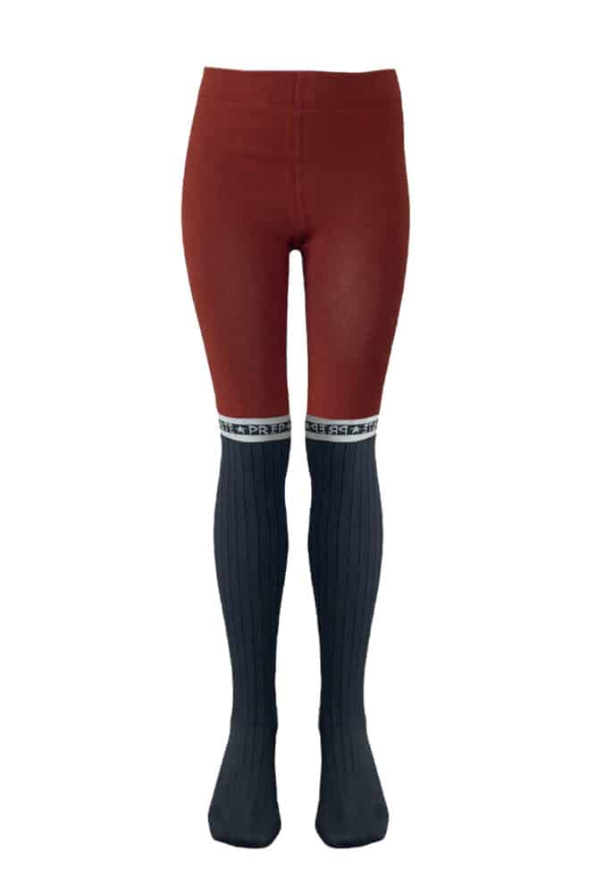 Topitm maillot grey/rusty red